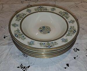 Minton HENLEY 6 Rim Soup Bowls