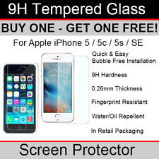 Premium Quality Tempered Glass screen protector for Apple iPhone SE