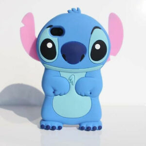 3D Stitch Phone Case For iPhone 11 12 Pro Max XR XS 5 6 7 8 SE Samsung S8 S9