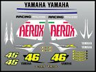 Aerox 50 scooter bike full kit stickers decal set the doctor 46 Rossi aerox R