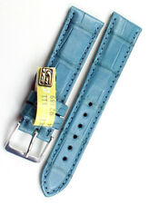 18mm /16mm XS KURZ echt ALLIGATOR BAND handmade Germany Louisiana Uhrenarmband