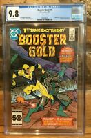 Booster Gold #1 1st App of Booster Gold & Skeets White 1986 CGC 9.8 1999376011