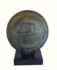 Wild Boar Shield bronze miniature marble based artifact