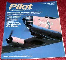 Pilot 1988 January Thruster,Cessna 421,Confederate Air Force