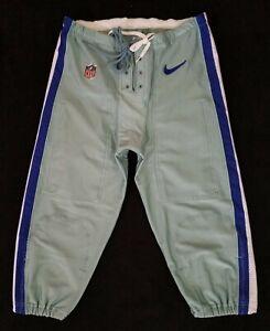 Dallas Cowboys NFL Team Issued Seafoam Green Football Pants - Size 38