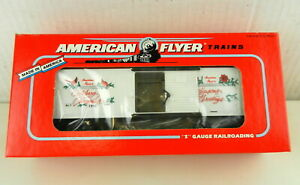 AMERICAN FLYER/Lionel S Scale #6-48314 1992 Merry Christmas Car ~NIB~  T140