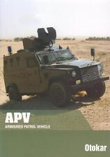 OTOKAR APV 4x4 2015 TURKISH ARMY MILITARY BROCHURE PROSPEKT FOLDER
