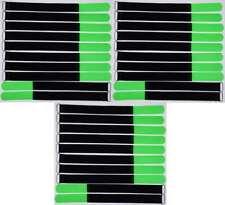 20x Kabelklettband 30 cm x 25 mm hell blau Klettband Klett Kabel Binder Band Öse