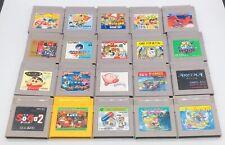Lot 20 Gameboy Rockman World 1 / Tetris / Pokémon / Mario Bros Japan US Seller