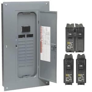 Square D 100 Amp Panel In Electrical Circuit Breakers & Fuse Boxes for sale  | In Stock | eBayeBay