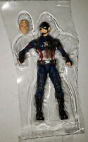 Marvel Legends Civil War Captain America with Extra Head from 3 Pack