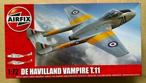AIRFIX - A02058 - De Havilland Vampire T.11