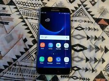 Samsung Galaxy S7 Edge 32gb - Black - (pink line) GSM UNLOCKED