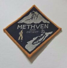 Methven New Zealand Golf Fishing Christchurch Great Outdoors Woven Souvenir Patc