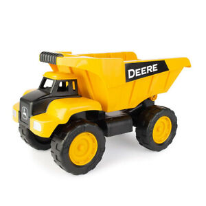 "Tomy John Deere 15"" Big Scoop Toy Construction Dump Truck Built Sandbox Tough"