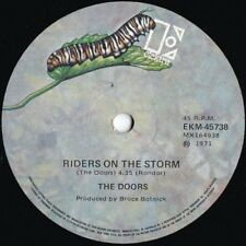Doors ORIG OZ 45 Riders on the storm EX '71 Elektra EKM45738 Psyche Blues Rock