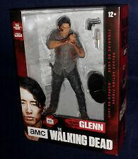 "The Walking Dead TV Series GLENN 10"" Deluxe Bloody Action Figure McFarlane AMC"