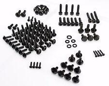 Yamaha Aerox MBK Nitro Fairing Screws Bolt Kit black + Transmission Cover Bolts