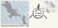 FDC - 1986-08-25:  Vending Machine Postage Stamps 1986