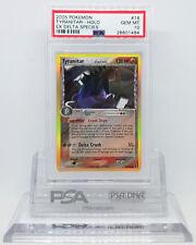 Pokemon EX DELTA SPECIES TYRANITAR #16 HOLO FOIL RARE CARD PSA 10 GEM MINT *