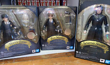 Harry Potter S.H.Figuarts 3 figure lot - Snape, Harry, Ron