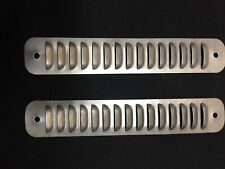 Louvered small panels made for 70s Ford P/U Van custom marker light covers