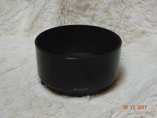 Paraluce originale Minolta 80 200 mm F4.5 Zoom 5.6 GRATIS UK