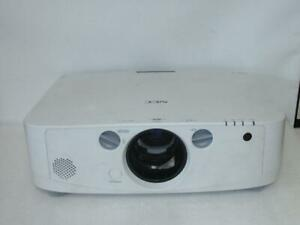 NEC NP-PA550W LCD Projector Lamp Hours Used 101hr / Filter Hours Used 101hr