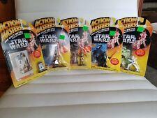 1994 Star Wars Action Masters 5 figure Set Luke Darth R2D2 C-3PO Storm Unopened