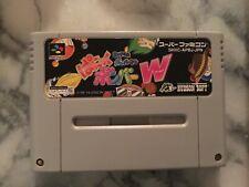PANIC BOMBER WORLD Bomberman Super Famicom Nintendo SNES - US seller