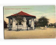 STW2079: BAND STAND JERSEY CITY Hudson C. NJ (C1912 postcard)