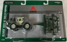1/64 Oliver 2655 4WD Tractor w/ Mulch Ripper RARE Ertl NIP