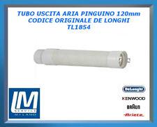 TUBO USCITA ARIA PINGUINO 120mm TL1854 DE LONGHI ORIGINALE
