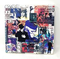 Elton John To Be Continued 4 CD Box Set With 40 Page Booklet Pamphlet & Insert