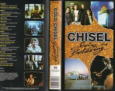Cold Chisel VHS Video Seeing Is Believing 72 Min Warner Music Australia 1992