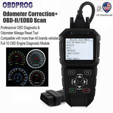 Obd2 Mileage Correction Odometer Adjustment Diagnostic Tool Engine Code Reader
