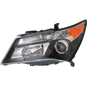 Headlight For 2010 2011 2012 2013 Acura MDX Left With Advance Package
