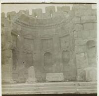 Libano Baalbek Archeologia Foto Stereo Placca Da Lente VR2L8n3