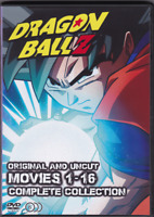 Dragon Ball Movie Pack 1-16 Anime Series on 6 DVDs, Has Dragon Ball Super Broly