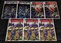 (LOT OF 7) TMNT TEENAGE MUTANT NINJA TURTLES #101 & #105 MIXED COVERS & PRINTS