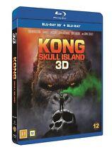 Kong Skull Island 3D + 2D Blu Ray (Region Free)