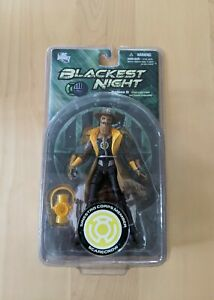 "DC Direct Blackest Night Series 8 Yellow Lantern SCARECROW 7"" Action Figure"