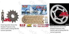 Honda CB500 S 98-03 DID X Ring Pro Gold Chain Sprocket Kit 15/40t 525/108