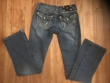 Miss Me Jeans Boot Cut Womens Blue Size 26