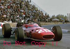 Chris Amon Ferrari 312/67 Monaco Grand Prix 1967 Photograph 5