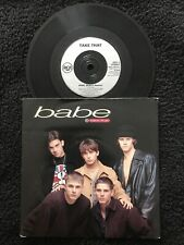 Take That - Babe / All I Want Is You 7'' Vinyl Single Pic Sleeve (1993) EX/VG+