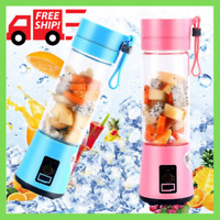 Personal Portable Blender Juicer Mix Blend Rechargeable Jet Wireless Squeezers H