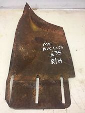 Massey Ferguson 35 Tractor Round mudguards Skin Safety Guard Right Hand NVC 1213