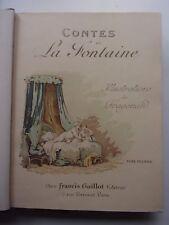 Contes de La Fontaine illustrés par Fragonard (2 vol.), 1925