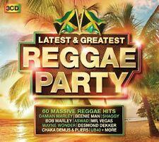 REGGAE PARTY- LATEST & GREATEST (BOB MARLEY, SHAGGY, BEENIE MAN, ...) 3 CD NEU